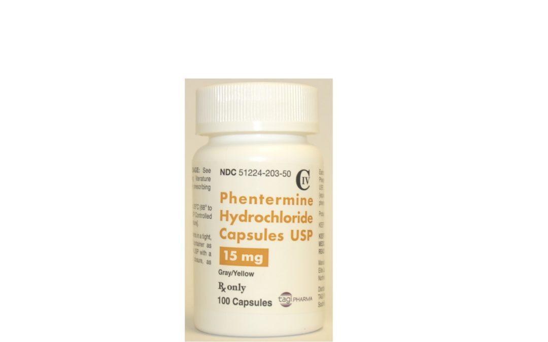 Phentermine Hydrochloride Capsules, USP (CIV)